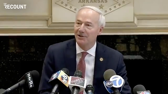 Gov. Hutchinson of Arkansas announced today he will veto a bill that would have blocked medical treatments for transgender minors