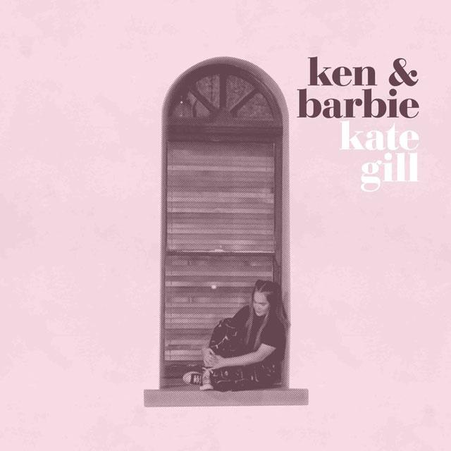 "Cover art for kate gill's ""ken&barbie"""