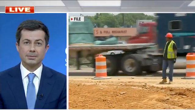 Secretary of Transportation Pete Buttigieg on Fox News