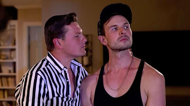 Riley and Braden Davis in 'Bad Boy's Big Break'