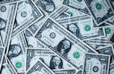 A photo of cash