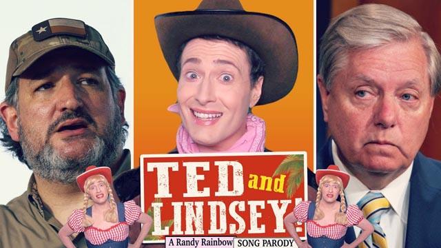 Randy Rainbow's latest song parody takes aim at Republican Sens. Ted Cruz and Lindsey Graham