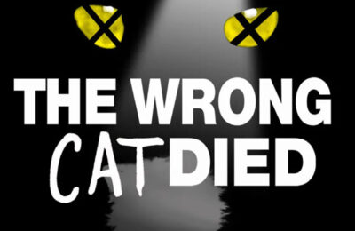 """Hit play to hear my interview with the fun podcast """"The Wrong Cat Died"""""""