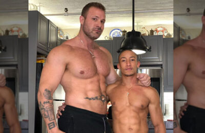 Austin Wolf and Jimmy West definitely measure up (image via Instagram)