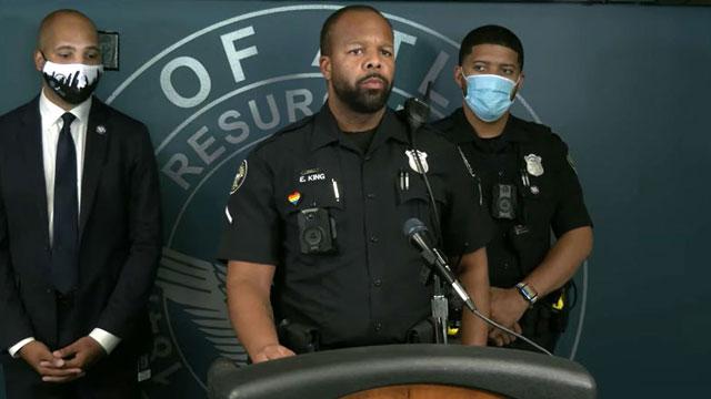 Officer Eric King, LGBT Liaison for Atlanta Police Department