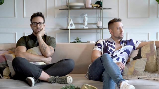"Benji Schwimmer and David Hernandez in ""ILY."""