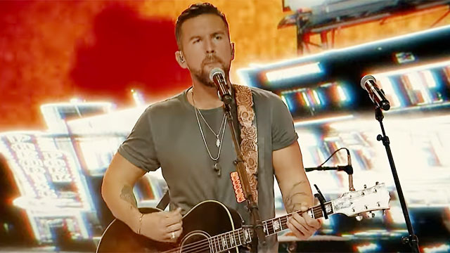 Country music star TJ Osborne of Brothers Osborne