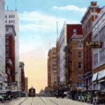 Photo of Tulsa's 'Black Wall Street' district