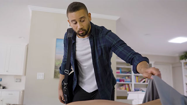 'Bad Massage Boy' - Brian takes a peek at Scott's butt