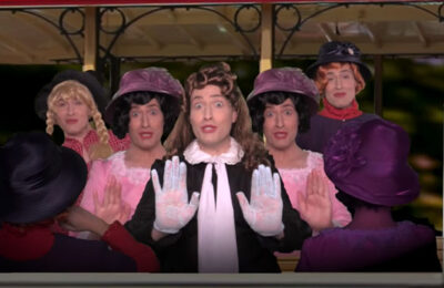 "Randy Rainbow offers a parody of the Judy Garland classic song ""The Trolley Song"""
