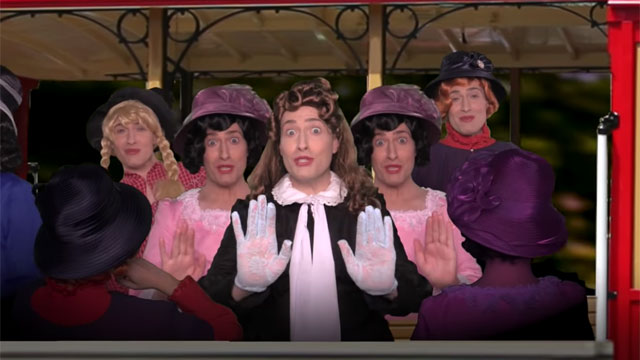 """Randy Rainbow offers a parody of the Judy Garland classic song """"The Trolley Song"""""""