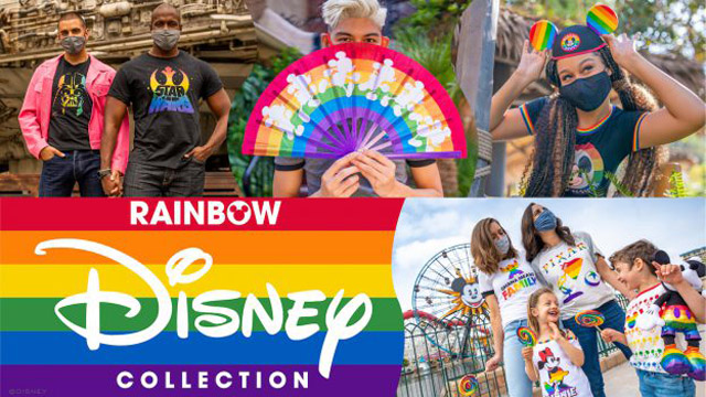 Disney rolls out brand new rainbow pride gear for Pride Month