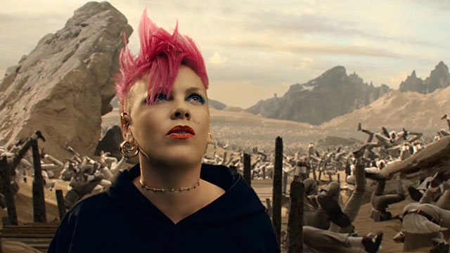 The latest music video from P!nk includes cameos from gay icons Cher and Judith Light