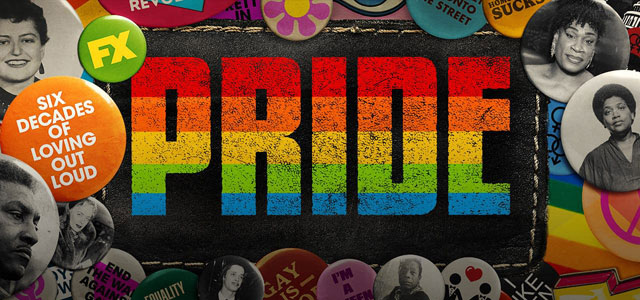 Logo for the new LGBTQ docuseries PRIDE on FX