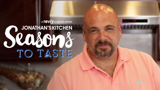 Chef Jonathan Bardzik stars in 'Jonathan's Kitchen: Seasons To Taste' on Revry