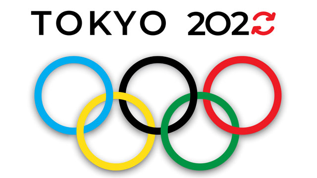 Logo for the upcoming Summer Olympic Games in Tokyo