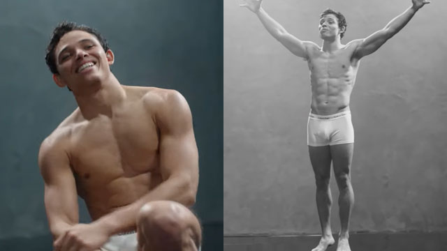 Anthony Ramos in Calvin Klein campaign