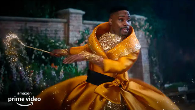 Billy Porter is 'The Fab G' in upcoming Amazon Prime Video reboot of 'Cinderella'