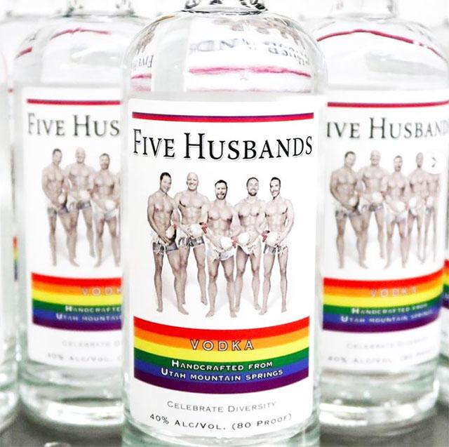 Celebrating Pride Month with Five Husbands Vodka honoring LGBTQ leaders in Utah