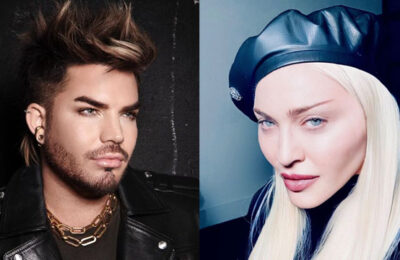 Adam Lambert & Madonna