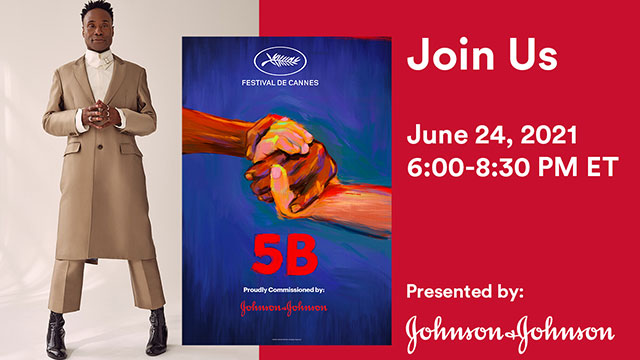 Join Billy Porter for a free viewing of the acclaimed documentary 5B followed by a chat with