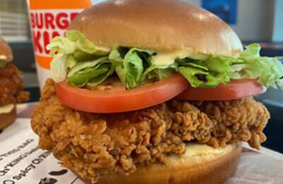 The new chicken sandwich from Burger King is trolling Chick-fil-A and we're there for it!