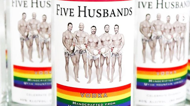 Ogden's Own, an award-winning leading distiller of craft spirits and the largest independently owned distillery in the state of Utah, is welcoming Pride 2021 through a brand-new, special-edition label for its Five Husbands Vodka.