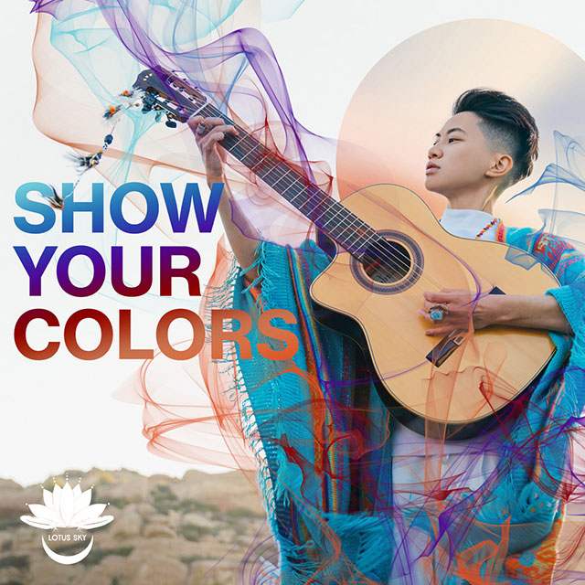 """Out artist Lotus Sky releases her new anthem, """"Show Your Colors"""" for Pride Month"""