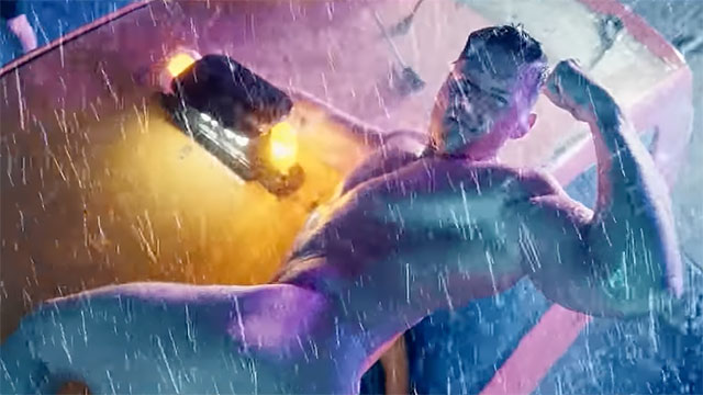 "Screen capture from the latest music video from Todrick Hall ""Rainin' Fellas"""