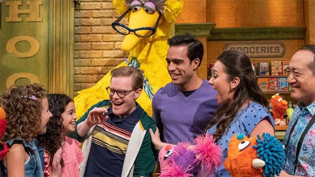 Sesame Street has introduced its first gay family