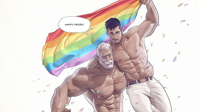 """Silverjow's famous """"Hunks of the week"""" celebrate Pride Month 2021"""