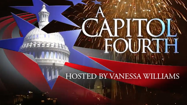 Don't miss A CAPITOL FOURTH on PBS tonight hosted by Vanessa Williams