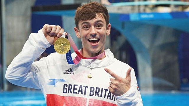Tom Daley wins Olympic gold for the first time at his 4th Olympic Games