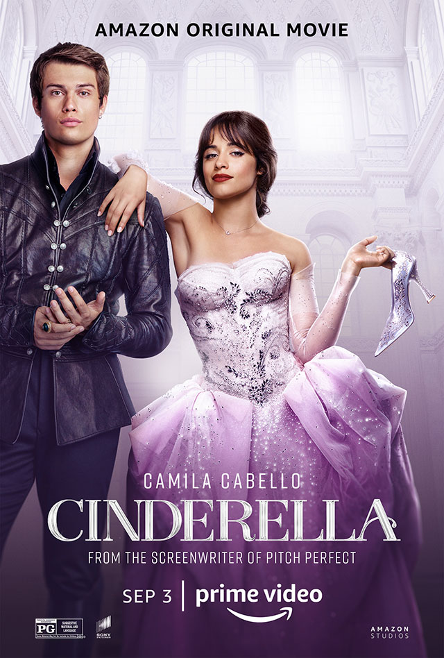 Official poster for Amazon Prime Video's upcoming musical film 'Cinderella'