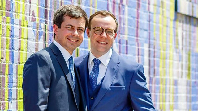 Pete and Chasten Buttigieg announced they will soon be parents