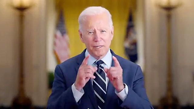 President Joe Biden thanks the 2021 U.S. Olympians for representing us so very well