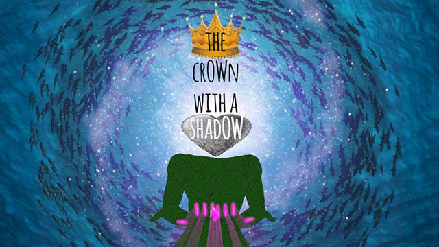 Poster image for queer short film The Crown With A Shadow