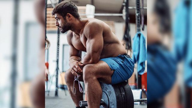 Dan Tai takes a seat to take in some gym drama