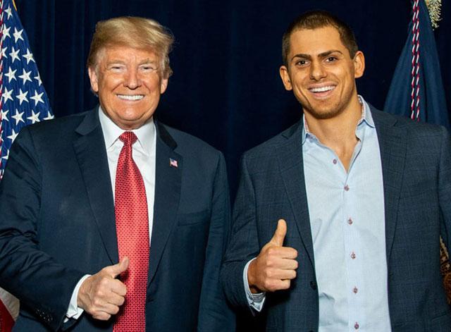 Donald Trump & Anton Lazzaro (image via AntonLazzaro.com)
