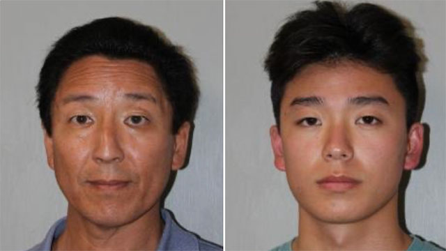 Norbert Chung, 57, Trevor Chung, 19 (mugshots)