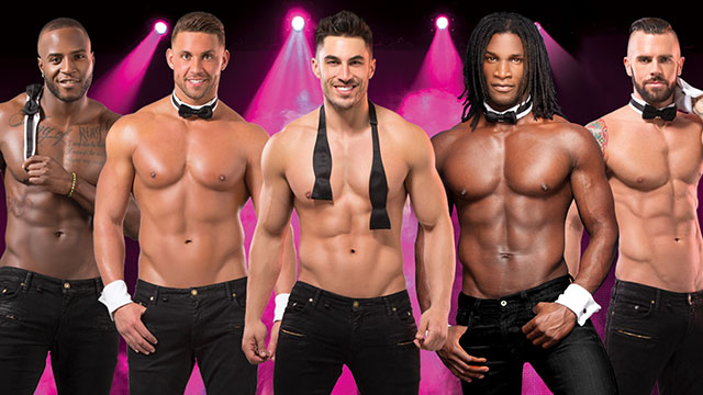 The men of Chippendales