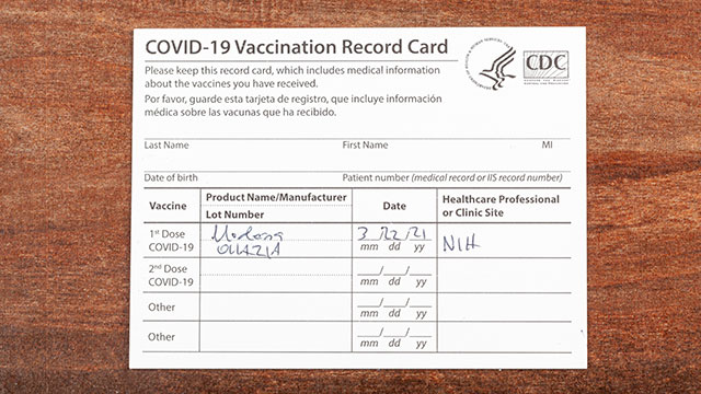 A registered nurse in Michigan was charged with stealing and then selling coronavirus vaccination record cards