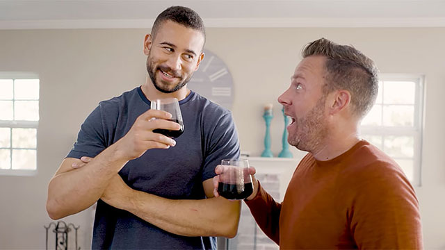 Doug Rogers and Artie O'Daly in 'Bad Boyfriend'