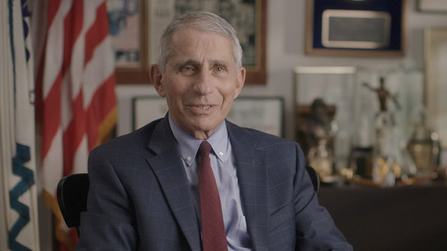 Dr. Anthony Fauci (photo: National Geographic for Disney+)