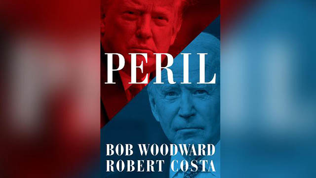 The cover of PERIL by Bob Woodward and Robert Acosta