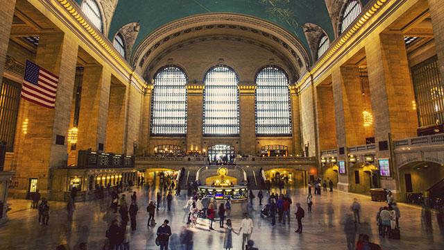 A photo of Grand Central Station by Remi Zik via Unsplash