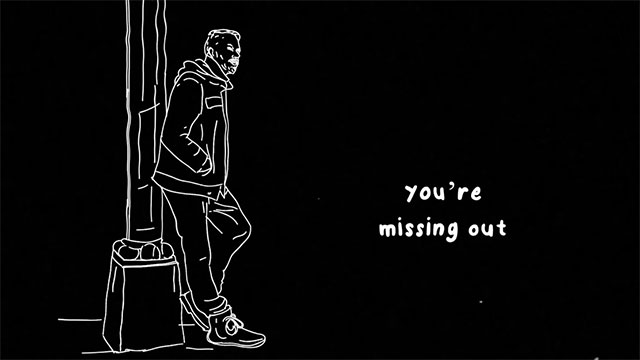 "Kyle Motsinger's pensive new single ""You're Missing Out"""