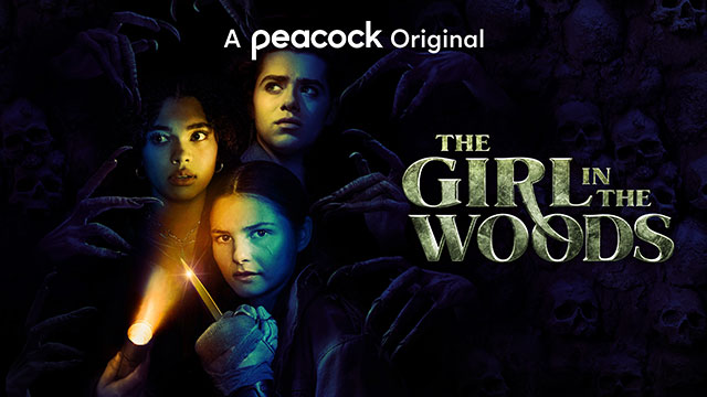 Key art for The Girl in the Woods from Peacock