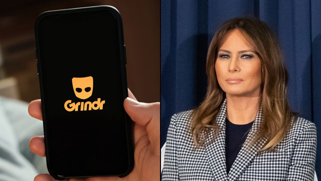 A gay man was fired from former First Lady Melania Trump's White House staff for his 'lively' Grindr account