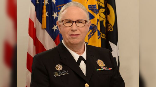 Dr. Rachel Levine, the nation's most senior transgender official, once again made history by becoming the first openly transgender four-star officer across any of the country's eight uniformed services.